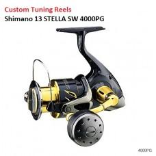 Катушка (Custom Tuning Spinning Reels) Shimano 13 STELLA SW 4000PG