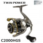 Катушка Shimano 15 Twin Power C2000HGS