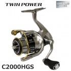 Катушка Shimano 15 Twin Power C2000HGS