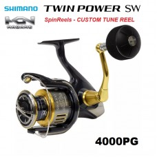 Катушка эксклюзив (Custom Spinning Reel) Shimano 15 Twin Power SW 4000PG