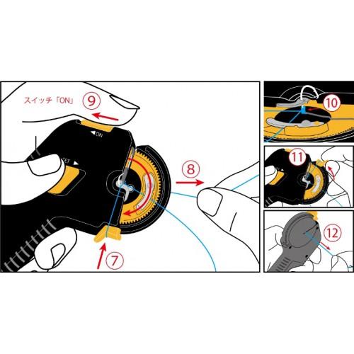 устройство Daiwa Sokko для привязывания крючков