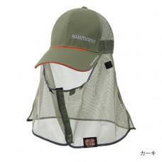 Кепка анти москитная Shimano MOS-Shield CA-002N