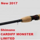 Спиннинг New 2017 Shimano Cardiff Monster Limited