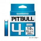 Плетеный шнур SHIMANO PITBULL 4 PE 200m (PL-M64R)