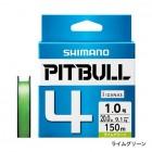 Плетеный шнур SHIMANO PITBULL 4 PE 150m (PL-M54R)