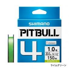 Плетеный четырехжильный шнур SHIMANO PITBULL 4 PE 150m (PL-M54R)