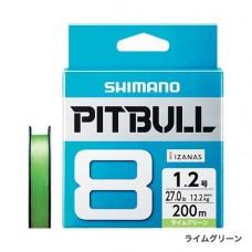 Плетеный восьмижильный шнур SHIMANO PITBULL 8 PE 200m (PL-M68R)