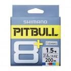 Плетеный шнур SHIMANO PITBULL 8+ PE 150m (LD-M51T)