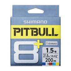 Плетеный восьмижильный шнур SHIMANO PITBULL 8+ PE 150m (LD-M51T)