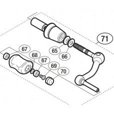Ручка в сборе (Handle Assembly) для катушек Shimano Ultegra (2012)