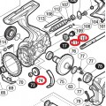 Комплект деталей Idle Gear (паразитки) для Shimano STELLA 2014