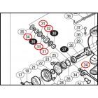 Комплект -ролик лесоукладывателя  DLC в сборе от Shimano Stella