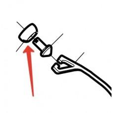 Деталь (Line Roller Support Cover) ролика от катушек Shimano (в ассортименте)
