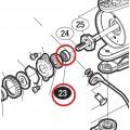 Подшипник штока (Main Shaft Spacer Bearing) от Shimano Stella 07/10/14 (FE\FD\FI)