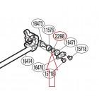 Шайбы регулировочные для бегунка (ножа, вилки) в каретку (комплект 3 шт)
