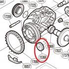 Паразитная шестерня (idle gear) для Shimano 2016 Stradic Ci4+ (FB)