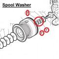 Шайбы регулировочные (Spool Washer) для шпульного узла Shimano (комплект 3 шт)