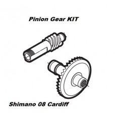 Комплект деталей Pinion Gear (главная пара) для Shimano Cardiff (2008)