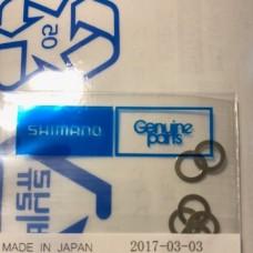 Шайба регулировочная SUS 4.05 x 5.8 x 0.1 для катушек Shimano