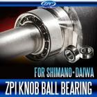 Подшипники открытые ZPI Antirust Knob Ball Bearing 4x7x2.5 mm (2 шт)