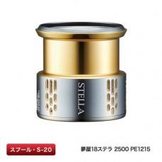 Запасная шпуля Spare Spool Yumeya Shimano 18 STELLA 2500 PE 1215 (S-20)
