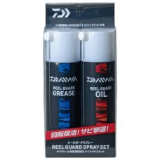 Смазка - спрей Daiwa REEL GUARD SPRAY SET набор (grease + oil )