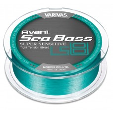 ПЛЕТЕНЫЕ ШНУРЫ VARIVAS AVANI SEA BASS PE [SUPER SENSITIVE] LS8