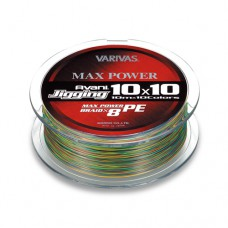 ПЛЕТЕНЫЕ ШНУРЫ VARIVAS AVANI JIGGING 10x10 MAX POWER PE