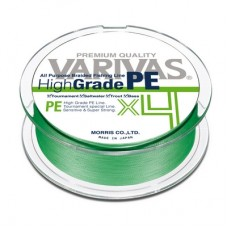 ПЛЕТЕНЫЕ ШНУРЫ VARIVAS HIGH GRADE PE X4 (Green)